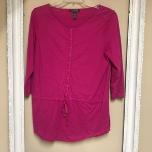 Lauren Ralph Lauren cotton top
